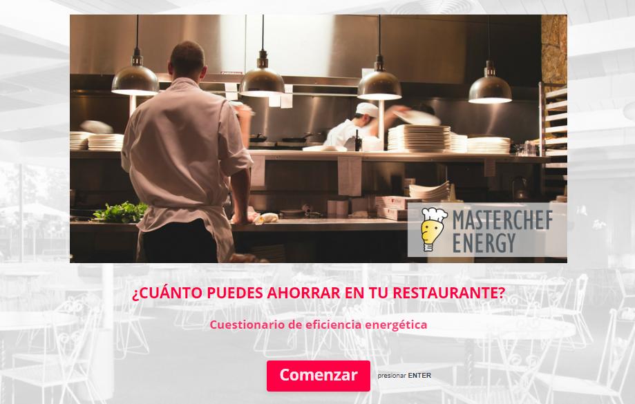 masterchef energy - aplicación ahorro energético